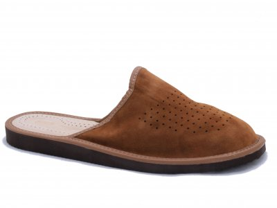 SIGVARD - Perforated Suede Beige